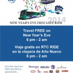 RTC 2014 New Year's Eve Safe RIDE